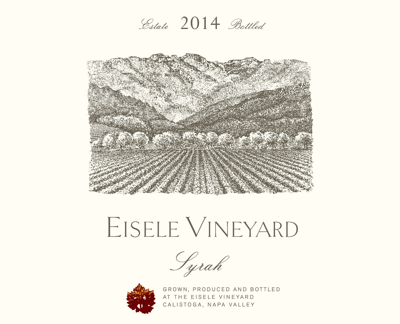 Eisele Vineyard - Syrah